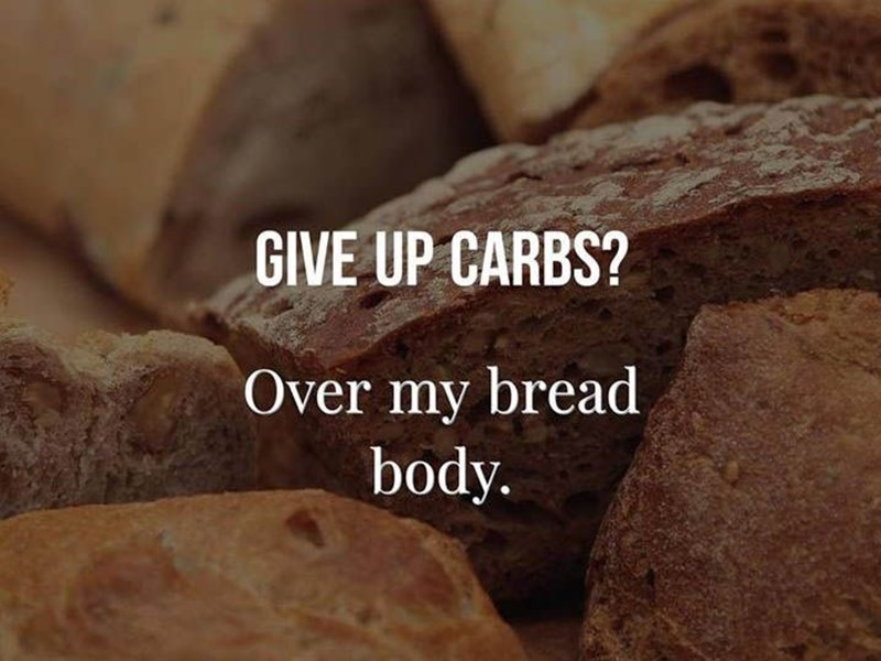 My week of no carbs.